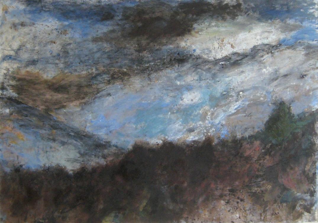 BBRT Huile sur papier marouflés, 114 x 162 cm, 2015